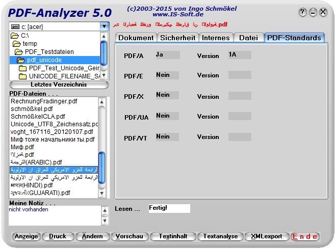 PDF-Analyzer (de-version)